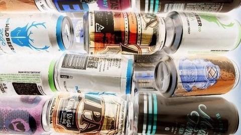 写真・たくさんの缶ビール.JPG